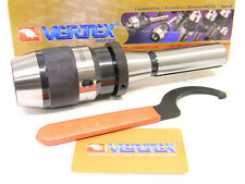 "NEW VERTEX R8 INTEGRATED KEYLESS PRECISION DRILL CHUCK 0 to 1/2"" cap (INT-13-R8)"