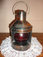 Nautical metal ship oil lamp lantern