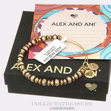 Authentic Alex and Ani Canyon Rafaelian Gold Bangle
