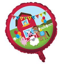 Casa de campo divertido Chicos Chicas Fiesta De Cumpleaños 18 Pulgadas Globo De La Hoja