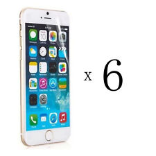 6 x Clear Front Screen Protective Protector Film Shield for iPhone 6 Plus 5.5""