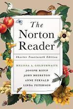 BRAND NEW The Norton Reader Shorter Fourteenth Edition Goldthwaite, Bizup, +