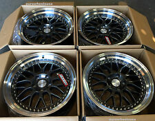"18"" ESR SR01 Wheels 18x8.5"" +30 5x114.3 For Nissan Altima Maxima 240SX Rims Set"