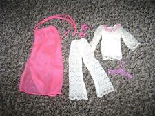 Vintage Mod Barbie LACE CAPER #1791 - COMPLETE with TOP, PANTS, CAPE, T-STRAPS