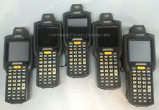 Lot of (5) Motorola Symbol MC3090R-LC38S00GER Laser Wireless Barcode Scanners