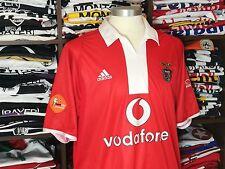 SL BENFICA home 2004/05 shirt-NUNO GOMES #21-Portugal-Fiorentina-Boavista-Jersey