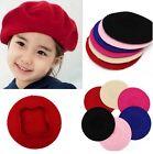 Cute Children Baby Girl Kids Warm Wool Hats Beret Artist Beanie Ski Cap Hat Y2