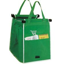 Grab Bag 1 Pack Reusable Ecofriendly Shopping Bag That Clips To Your Cart BI2G