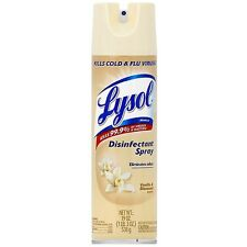 LYSOL Disinfecting Spray, Vanilla Blossoms Scent 19 oz (Pack of 2)