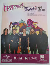 ADAM LEVINE signed PAYPHONE MAROON 5 MUSIC SHEET PAY PHONE PARTITION EXACT PROOF