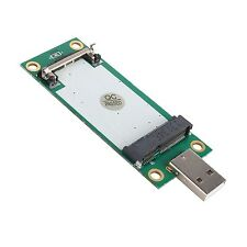 Mini PCI-E Wireless to USB Adapter Card With SIM Card Slot Test WWAN Module E0Xc