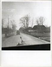 Echtes Original 1940s 2.WK  Großformat, Blick aus dem Panzer