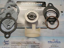 THERMOSTAT KIT MERCRUISER 807252Q5 1987 AND NEWER 160 DEGREE SLEEVE 23-806922