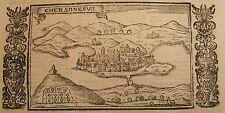 GREECE LASOR A VAREA 1713 MAP CANDIA CRETE CRETA CHERSONESUS CHERSONISOS