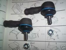 (Pair) FORD Escort Mk3 Mk4 XR3 XR3i Turbo Van TRACK ROD ENDS 2