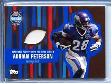 ADRIAN PETERSON 2008 TOPPS PRO-BOWL GAME USED JERSEY