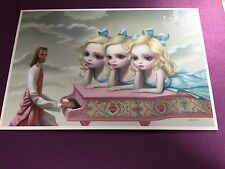 Mark Ryden The Gay 90's Piano Man Mini Print Postcard 6'' X 9''