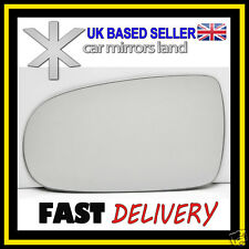 Left Passenger Wing Car Mirror Glass CONVEX VAUXHALL CORSA C 2001-2006