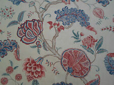 Sanderson Curtain Fabric 'Palampore' Antique 3.4 METRES (340cm) 100% Linen