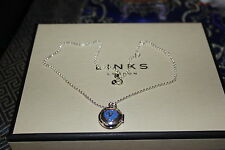 GENUINE LINKS OF LONDON STERLING SILVER LITTLE MISS BEST FRIENDS LOCKET NECKLACE