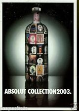 Cartolina Promocard Absolut  Collection 2003 #234