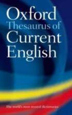 Oxford Thesaurus of Current English