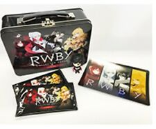 RWBY Anime Collector Cards Tin Series 1 With Metallic Mini Figure, Foil Sealed