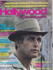 JUNE 1981 HOLLYWOOD STUDIO vintage movie magazine - PAUL NEWMAN - MAUREEN O'HARA