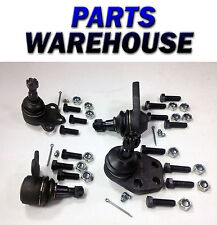 4 Ball Joints Upper Lower Dodge Ram 1500 2Wd 00-01 1 Year Warranty