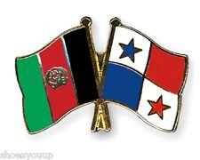 12 x Afghanistan- Panama Friendship Enamel Pin Badges 2-4 week lead time