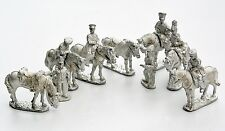 Prussian Officers and Commanders {Napoleonic}  28mm Calpe Metal Miniatures