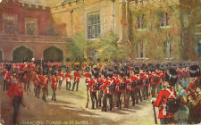MILITARY :THE MILITARY IN LONDON-Changing Guard at..-A & H PAYNE- TUCK 'Oilette'