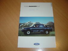 CATALOGUE Ford Ranger XLT de 2001