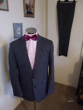 "KENNETH COLE Reaction Men's Grey 2-Piece Suit C40"" Regular W33"" L32"" Classic Fit"