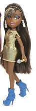Auténtica MUÑECA BRATZ, SASHA On the Mic Doll, Gold Dress. Authentic BRAND NEW!