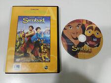 SIMBAD LA LEYENDA DE LOS SIETE MARES DVD + EXTRAS EDIC ESPAÑOLA REGION 2-4