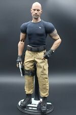"12"" 1/6 FAST AND FURIOUS LUKE HOBBS THE ROCK DWAYNE CUSTOM No Hot Toys Sideshow"