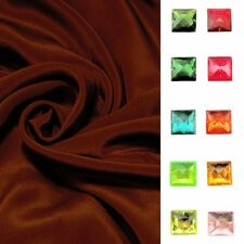 Meters 12mm /12momme 100% Pure Silk Crepe De Chine Wine Color +Free SQ Button