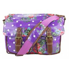 Ladies Satchel Shoulder Handbag Bag School A4 Crossbody Messenger Gifts