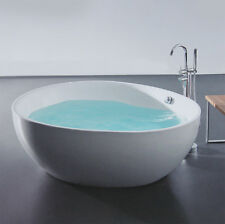 Bathroom Freestanding 1500  Bath Tub Acrylic Round 1500mm Bathtub Shower