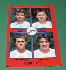 N°311 DEBERT GROSSELIN MEILLEY CHARLEVILLE D2 PANINI FOOT 97 FOOTBALL 1996-1997
