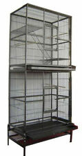 LARGE Tall Stackable Double Bird Cockatiel Sugar Glider Wrought Iron Cage 279