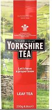 YORKSHIRE  LOOSE LEAF TEA 250G Worldwide from Britain UK
