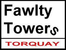 Fawlty RUE TOURS SIGNE / aluminium métal / Torquay