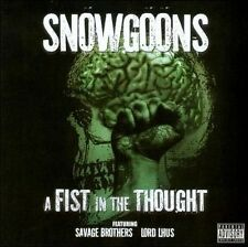 SNOWGOONS-FIST IN THE THOUGHT CD NEW