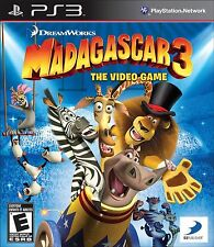 Madagascar 3: The Video Game (Sony PlayStation 3, 2012) DISC IS MINT