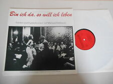 LP Volksmusik Theaterini. Wiesbaden CM Bellman - Bin ich da, so (15 Song) PRIVAT