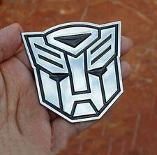 Metal Transformer Car Decal 3D Decoration Logo Alloy Zinc Emblem Badge Sticker