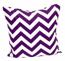 """100% Cotton Fabric Chevrone Cushion Covers Zigzag Style in Size 18""""X18"""""""