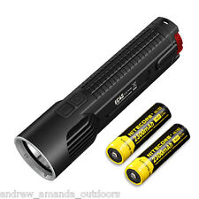 Nitecore EC4S 2150 Lumen Flashlight CREE XHP50 LED w/2x NL183 18650 Batteries